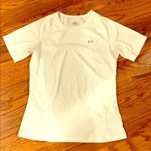 White Under Armour Technical T-Shirt